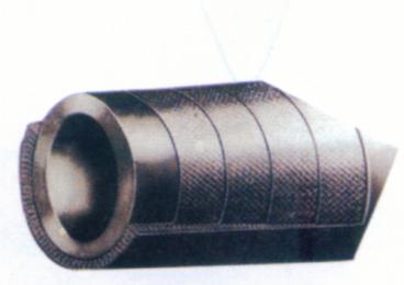 夹布胶管结构示意图